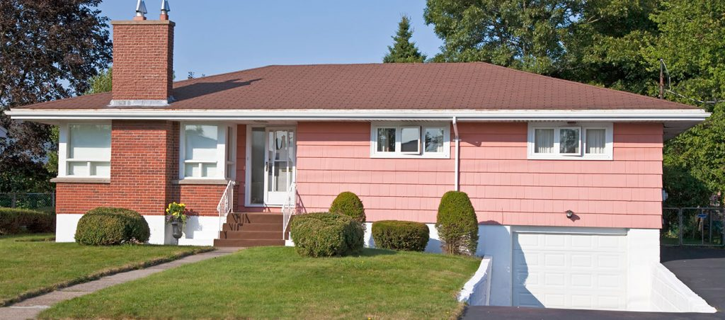 Older Suburban home, pre-1980s