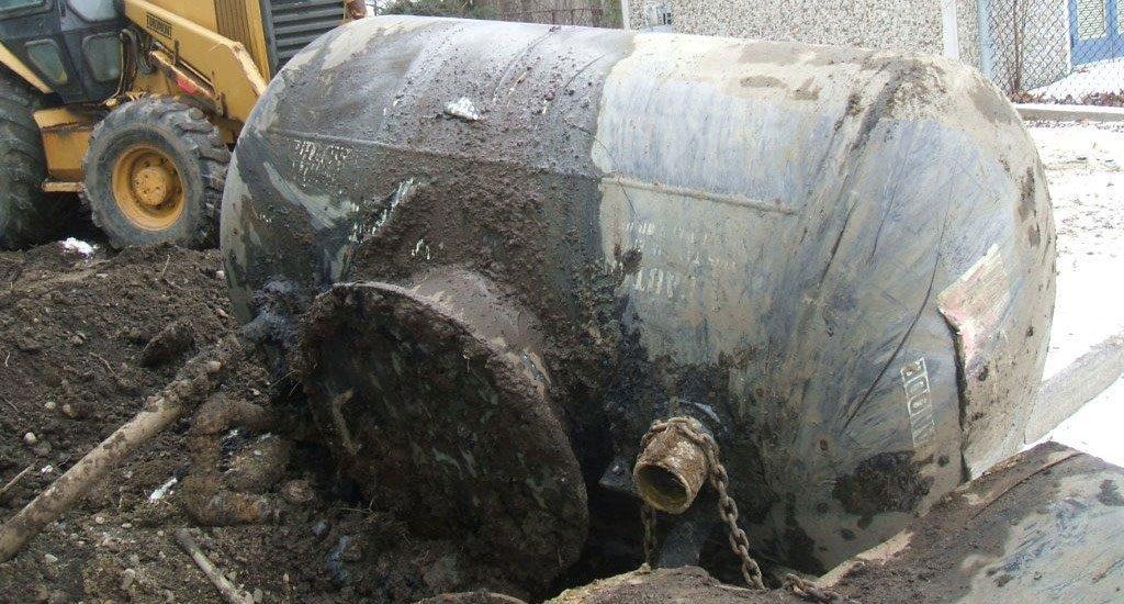 Residential Underground Oil Tank